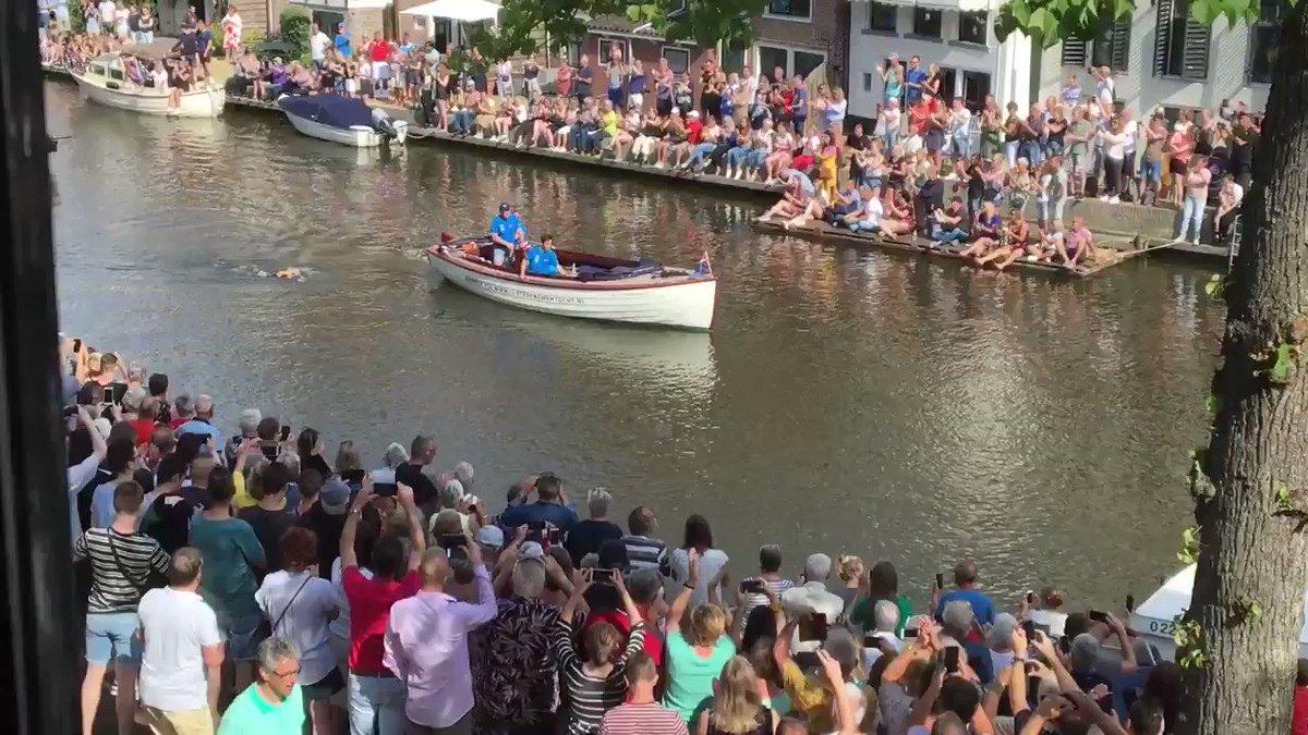 Maarten van der Weijden aangekomen in Dokkum