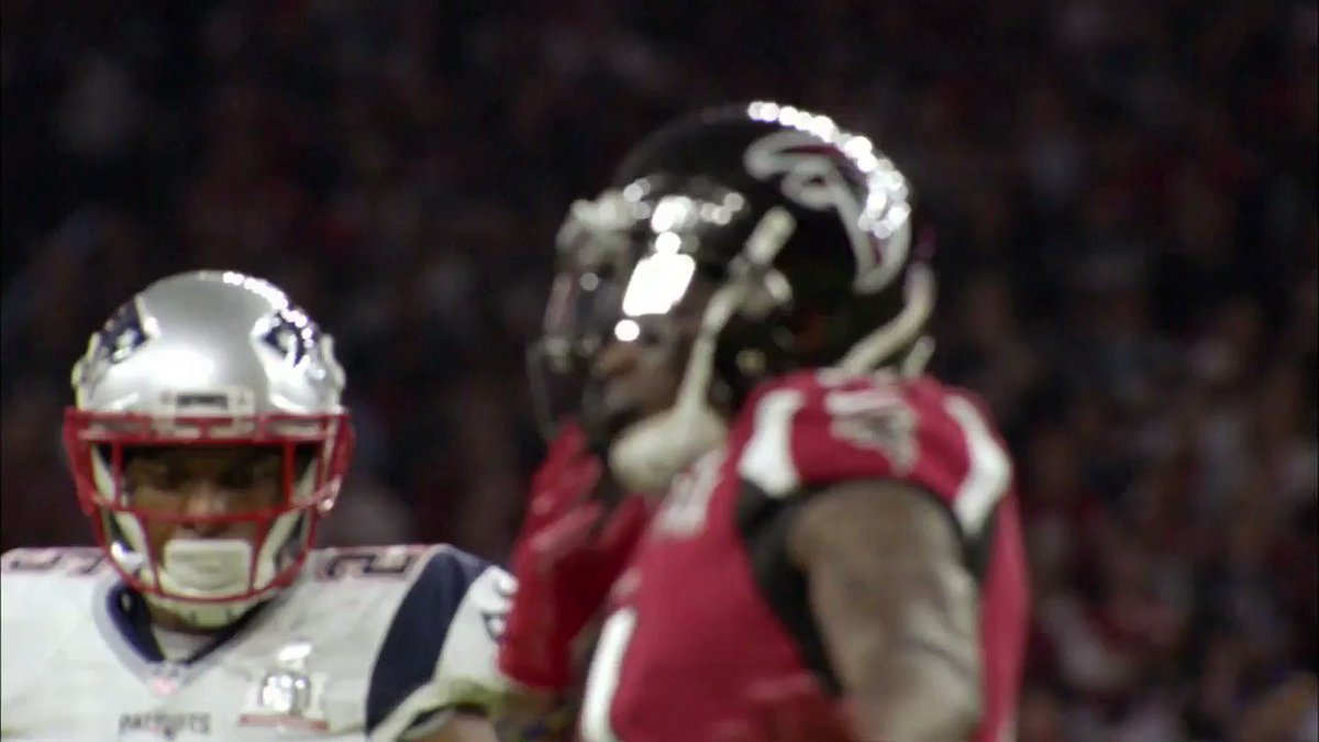 Random Highlight of the Day: @AtlantaFalcons star WR @juliojones_11 made what is possibly the most ridiculous Superbowl catch in history that been forgotten.