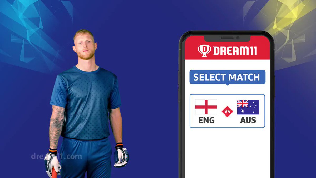 The clash we all have been waiting to witness. Are you ready? Click here to make your #Dream11 for this match -  http://d11.co.in/WorldCup-2019  #YeGameHaiMahaan #CWC19 #ENGvAUS