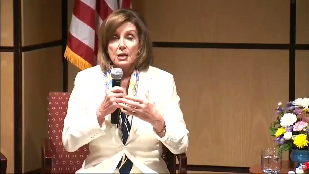"""Pelosi on immigration laws: """"in terms of interior enforcement…what's the point"""" https://youtu.be/QN8roRMJcqY"""
