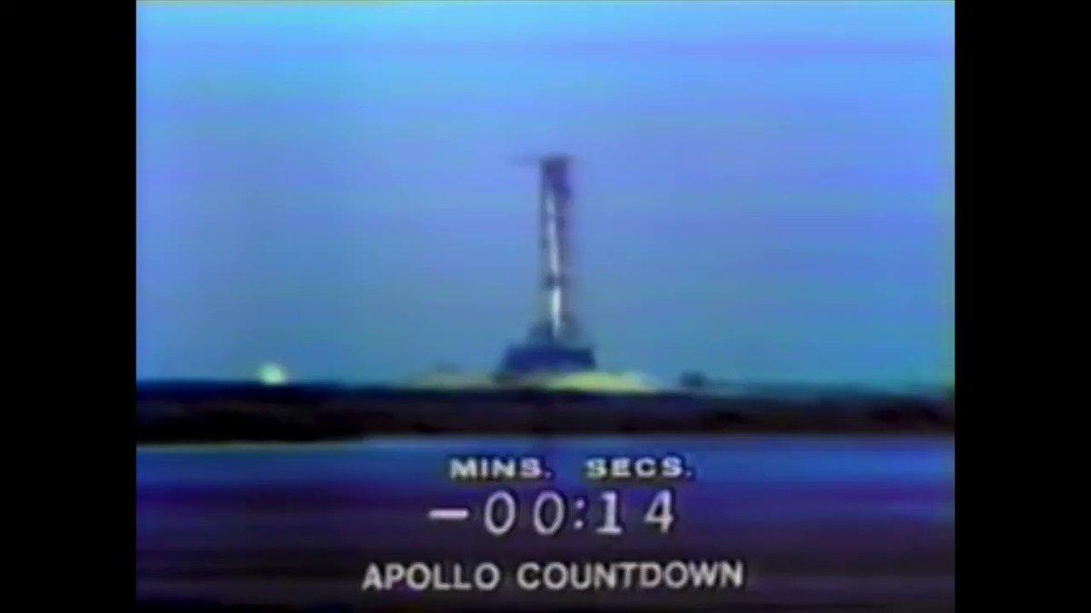 #OTD, 1969, at 13:32:00 UTC, the #Apollo11 mission launched for the Moon! #Apollo50th #DiscoverApollo