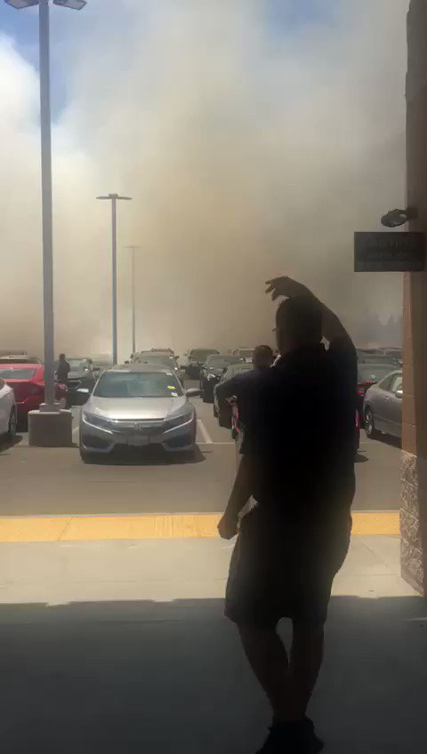 BREAKING VIDEO: More footage of vehicles ablaze at a Bakersfield, California, Carmax; some of the cars have reportedly exploded