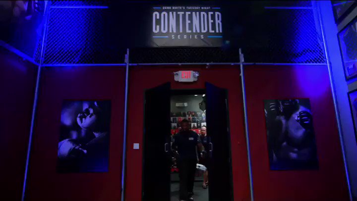 The Contender Series tomorrow on ESPN+