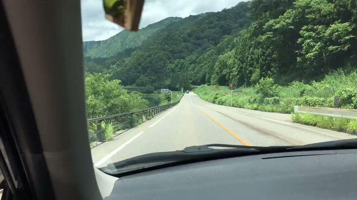 RT @3325mym: 金山町のカントリーロードが流れる道♫ https://t.co/wjsym4rZH6