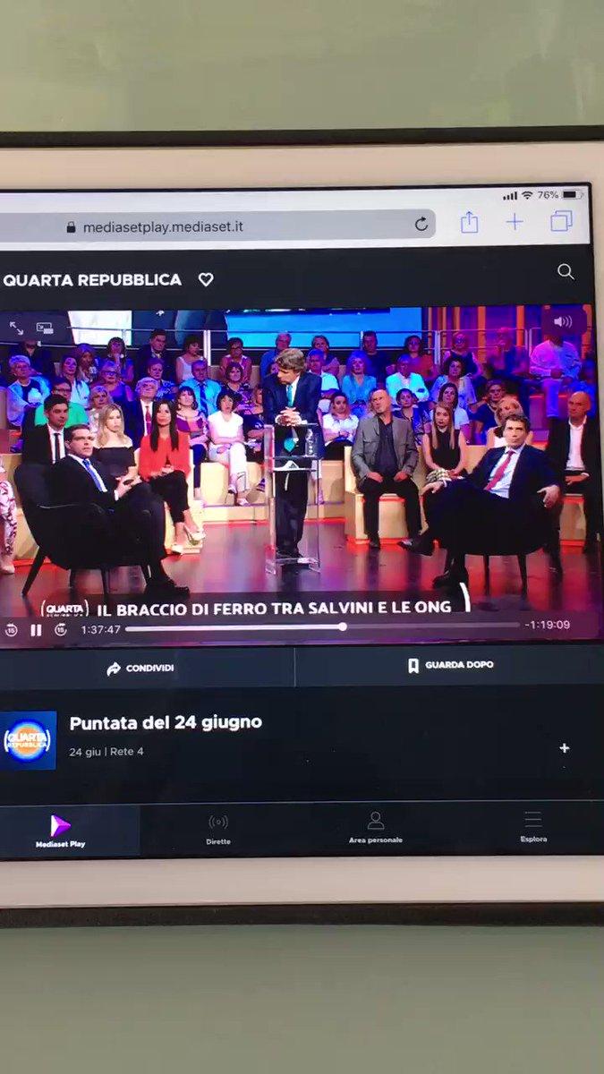 +++Ieri a #QuartaRepubblica @QRepubblica (grazie a @NicolaPorro). CLIPPINO 2. Parlano di #Salvini e si dimenticano la mafia degli scafisti...