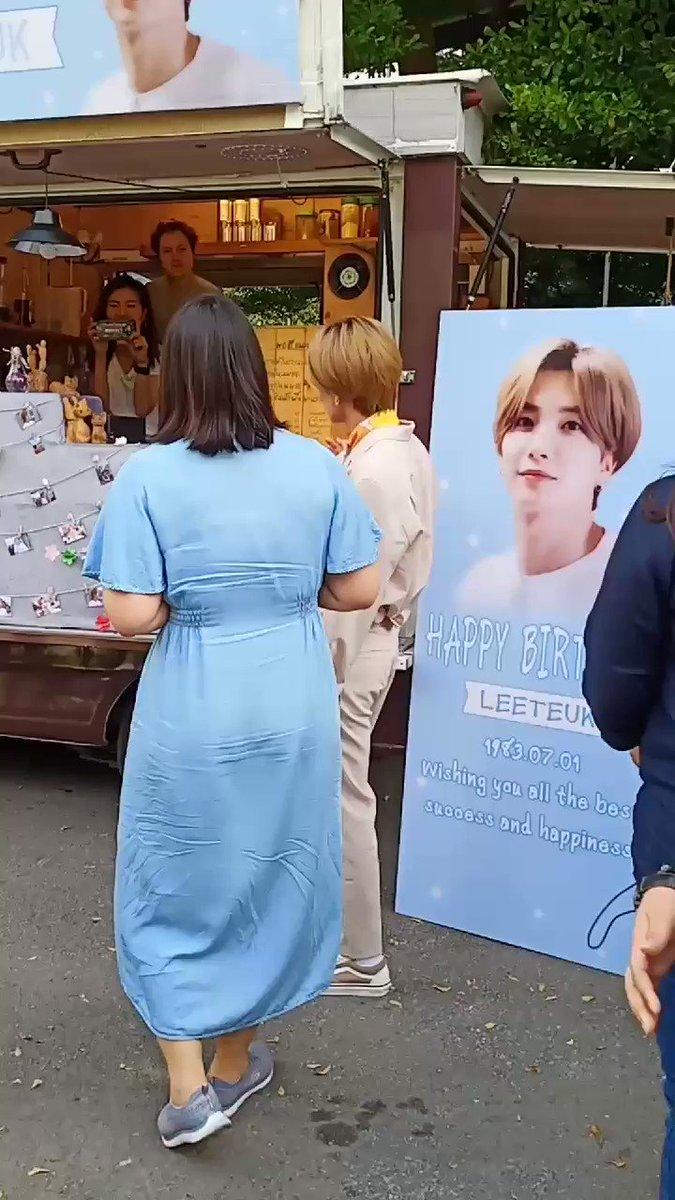 โกโก้เย็น ☺☺ #Leeteuk #WelcomeLeeteukToThailand #beautyno9withleeteuk