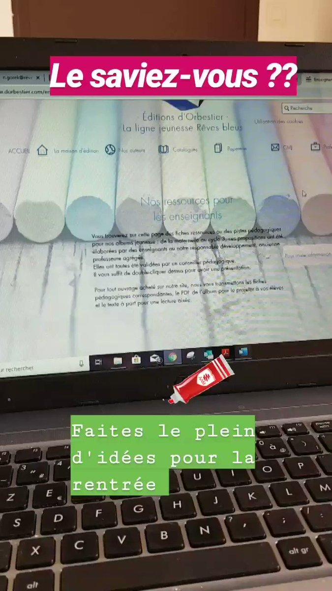 RT @edi_reves_bleus: Ressource, ateliers et projets, toutes nos idées pour la rentrée sur http://reves-bleus.com ! 🤗 #cycle1 #cycle2 #cycle3 #LivresJeunesse #Livre #albumjeunesse #pedagogie #teamcrpe