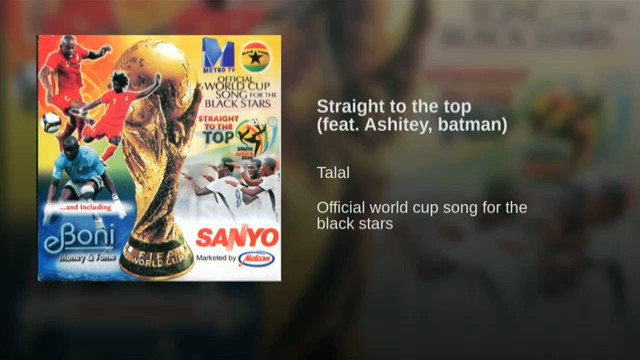 Youre not a Ghanaian enough if you dont know this song 😍❤🇬🇭🇬🇭 Come on #BlackStars !!!