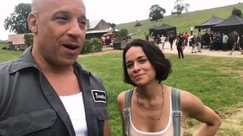 Vin Diesel dan Michelle dah start shooting #Fast9 dah.. Tak sabar!! Akan keluar tahun depan.