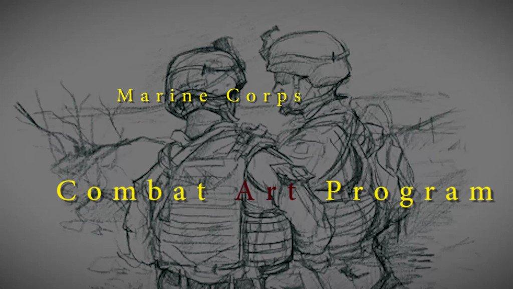 The @USMC Combat Art Program recently deployed Combat Artists to Iraq. News media are invited to view their artwork and interview the artists on 1 Jul 2019 (10 am) at the #USMCMuseum: usmcmuseum.com/press-room.html @fox5dc @washingtonpost @CBSNews @nbcwashington