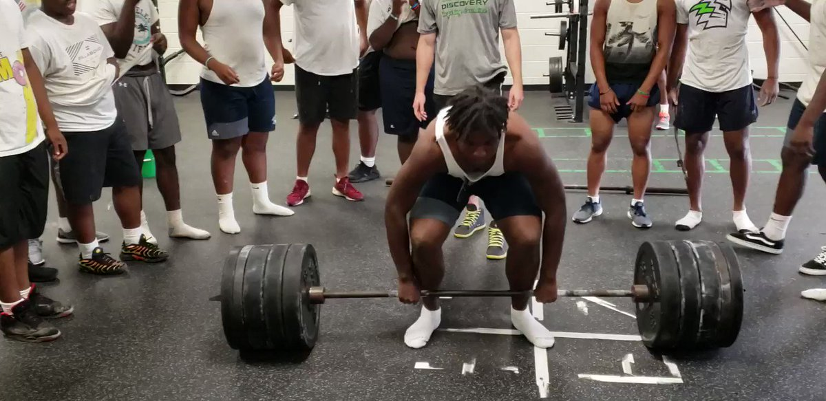 Donovan following Dever pound for pound...Everyone did an awesome job today and hit some heavy weight.  Proud of these young men!