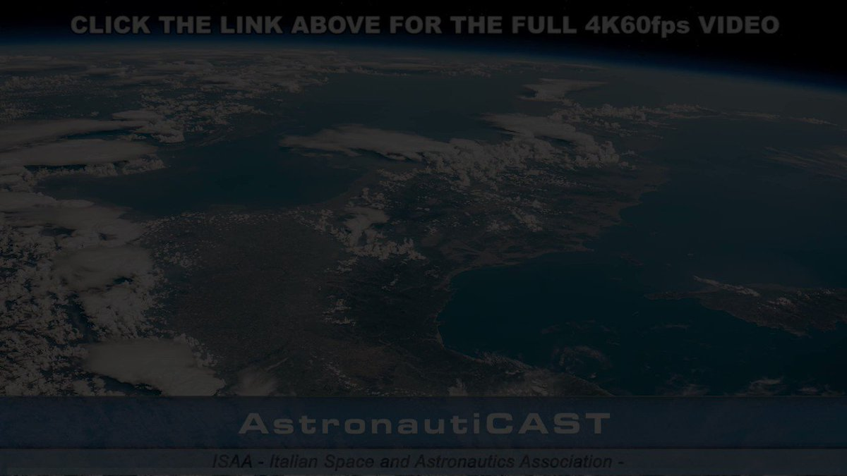 #ISS #timelapse #fromspace Flickering Italy (16 Jun 2019) 🇮🇹 Video 4K60fps: youtube.com/watch?v=4YC_Gc… #Expedition59 @esa @ESA_EO @esaspaceflight @ESA_EAC @NASA_Astronauts @Space_Station @astro_luca @AstroSamantha @ISS_CASIS @ISS101 @roscosmos @NASAEarth @NASA @csa_asc