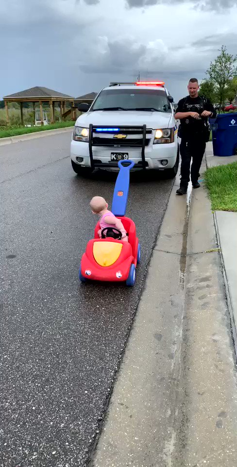 OPD Officer Alex Kipp was returning home from work when he pulled over his daughter Talynn for driving on the wrong side of the road. When asked for her license, registration, and proof of insurance, Talynn laughed at Officer Kipp and was subsequently let go with just a warning.