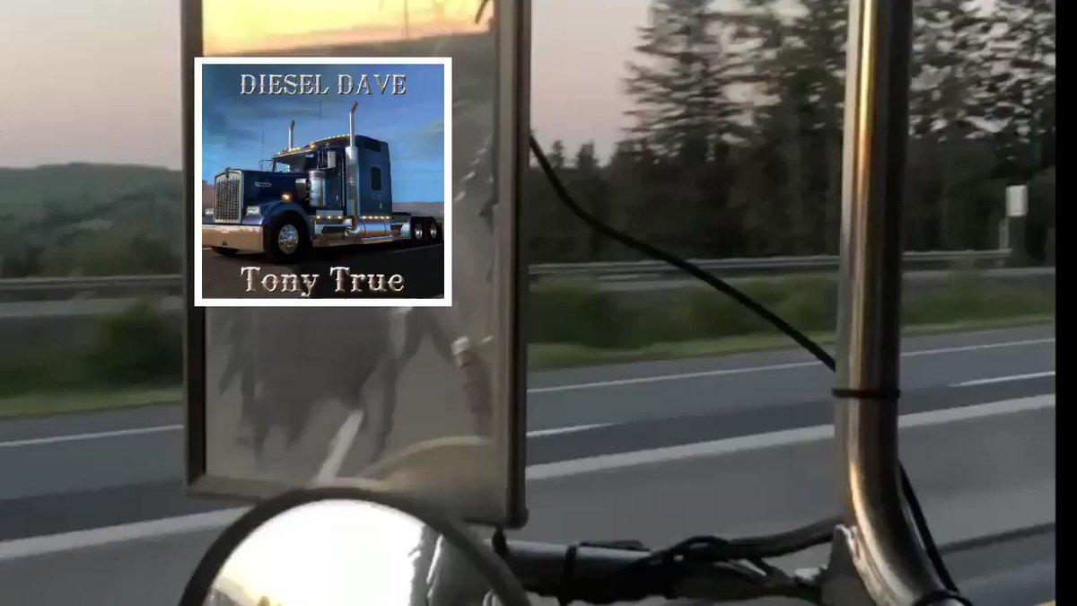 Can't wait!!! #DieselDave #video hits #YouTube tomorrow & #worldwideradio June28th #uk #NewZealand #belgium #australia #video #TruckTuesday #TruckerLife #Trucking