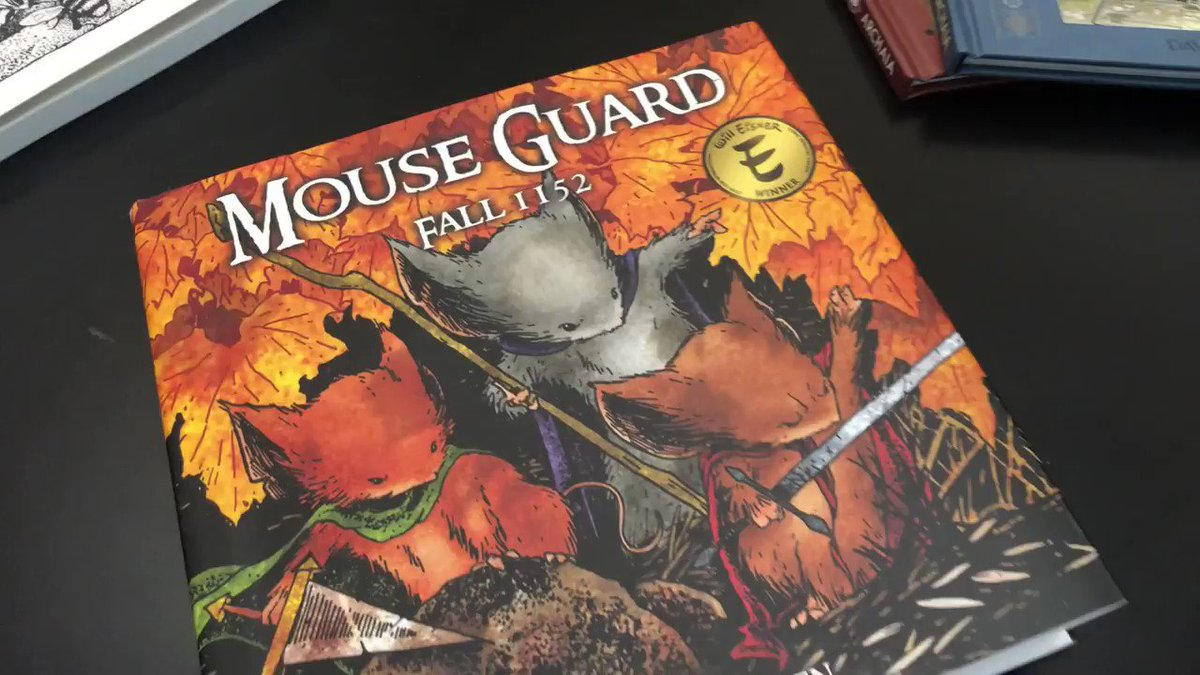 @wesball's photo on #MouseGuard