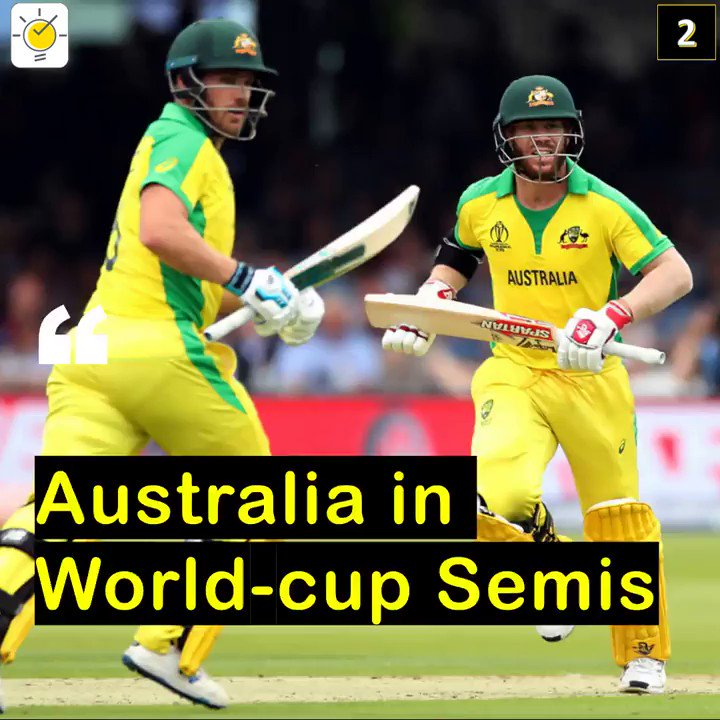 Australia thrash England by 64 runs to reach the World Cup Semi-finalsFollow @news_bulb to stay updated! 👍#newsbulb #news #indianews #worldcupfever #worldcup19 #worldcup2019 #WorldCupCricket #CricketWorldCup #ausvseng #aus #finch #AaronFinch #worldcup