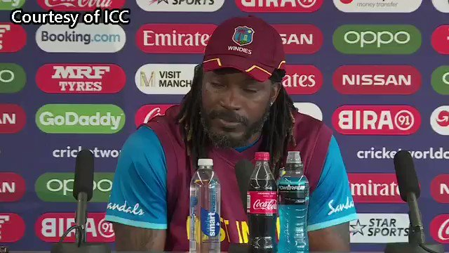 """Chris Gayle """"I wish Brian Lara well and hopes he makes a speedy recovery"""" #Cricket"""