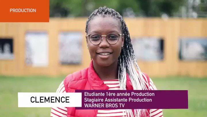 #monstageiscpa  C'est la période des stages ! Quatrième profil: Clémence, Assistante Production ! Elle nous décrit son quotidien chez WARNER BROS TV #stage #etudiant #profession  #savoir #maitrise #production