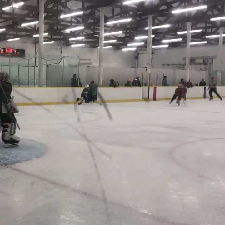 On the ice last night for the first time in a few weeks! Playing #3on3 with some buddies! #Hockey #Goalie #WorkHard #PlayHarder #SLR2 #YourStory