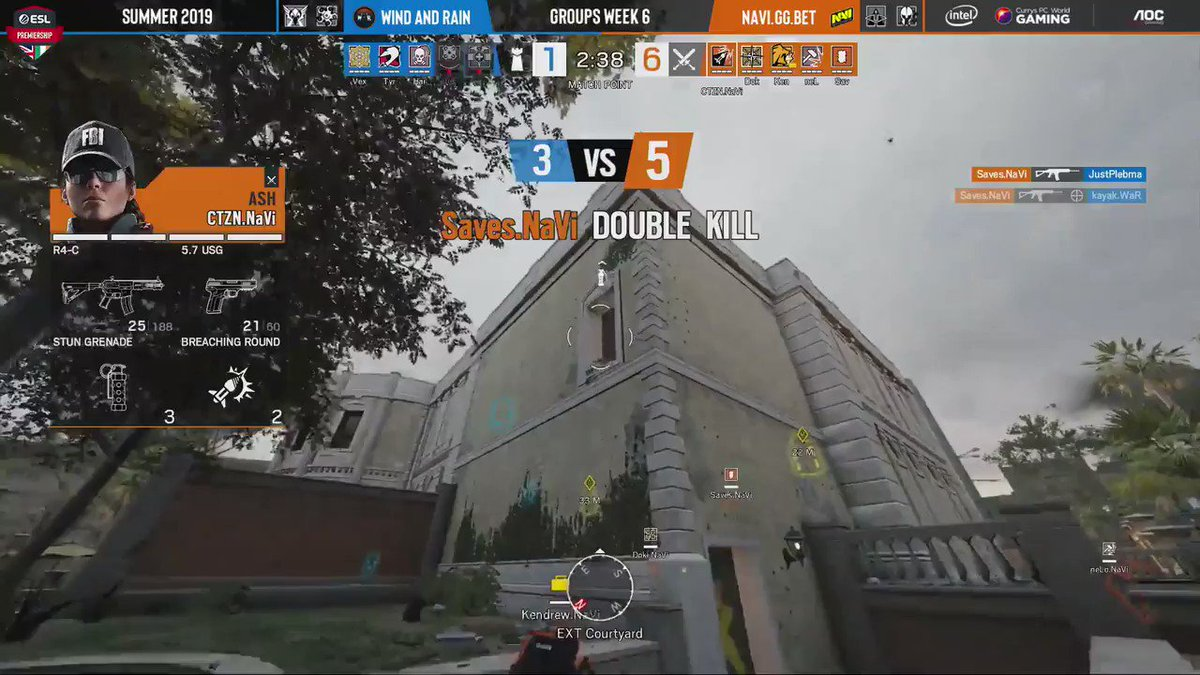 GGs @WindandRaingg! Closing out the game with a 7:1 score in our favor. GJ, boys! #NAVINATION #ESLPrem