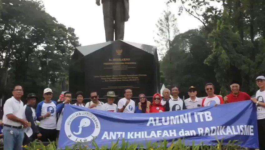 Gerakan Alumni ITB Anti Khilafah, Intoleransi dan Radikalisme (GALI AKAR) mengucapkan selamat  kepemimpinan baru Pak Jokowi - Pak KH. Maruf Amin periode 2019-2024. Semoga Indonesia makin maju & jaya! ~ @fadjroeL @jokowi @Kiyai_MarufAmin #RakyatPercayaMK #JokowiMenangLagi