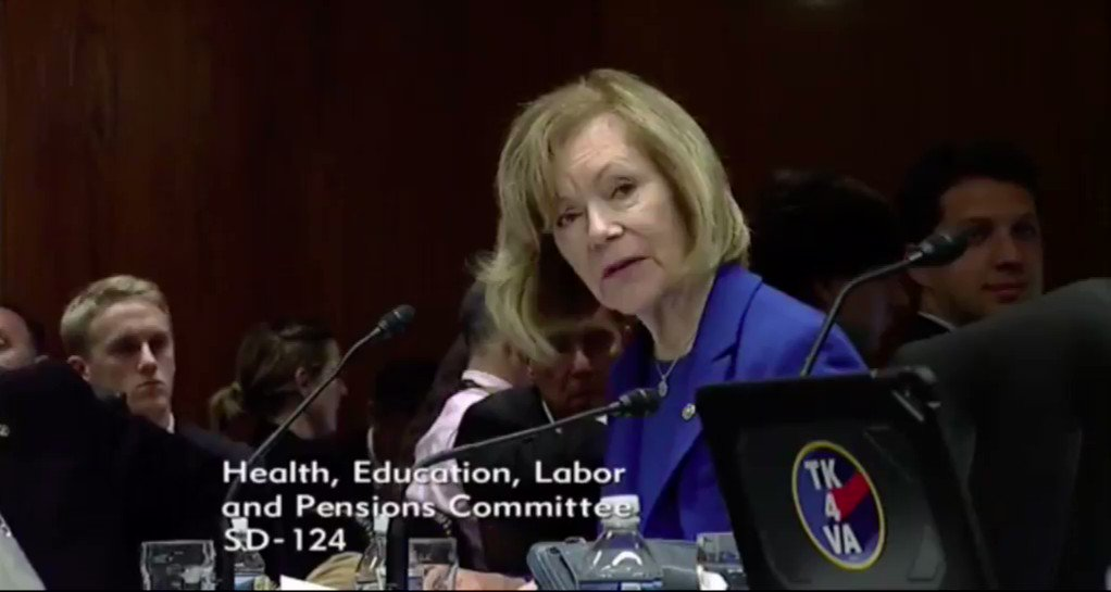 Image for the Tweet beginning: Yesterday, @SenTinaSmith discussed the need