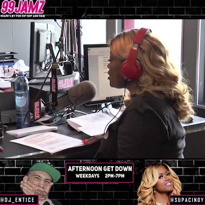 .@AmaraLaNegraALN tells the #AfternoonGetDown's @DJEntice & @SUPACINDY that @loveandhiphop Miami is NOT cancelled! Watch their full interview on our YouTube channel now!