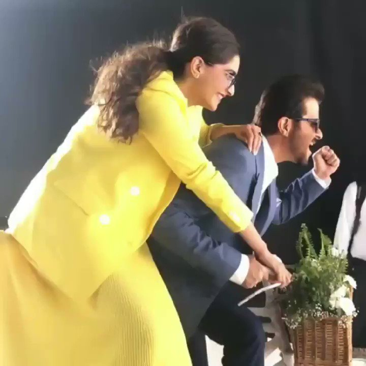 Our favorite swanky duo can't stop having fun during the shoot of @scotteyewear . Grab the trendy frames they're sporting and Flaunt your favorite father or daughter look with #ScottEyewearXAKSK collection.  @sonamakapoor @AnilSkapoor #ScottSunnies #ISeeYou #Spotted #Scotted