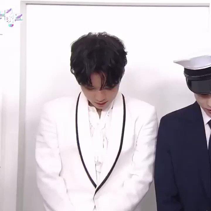 190628 뮤/뱅 상반기결산 #박지훈  대기실 인터뷰 cut 울 왕자님 ㅠㅠㅠ❤️❤️
