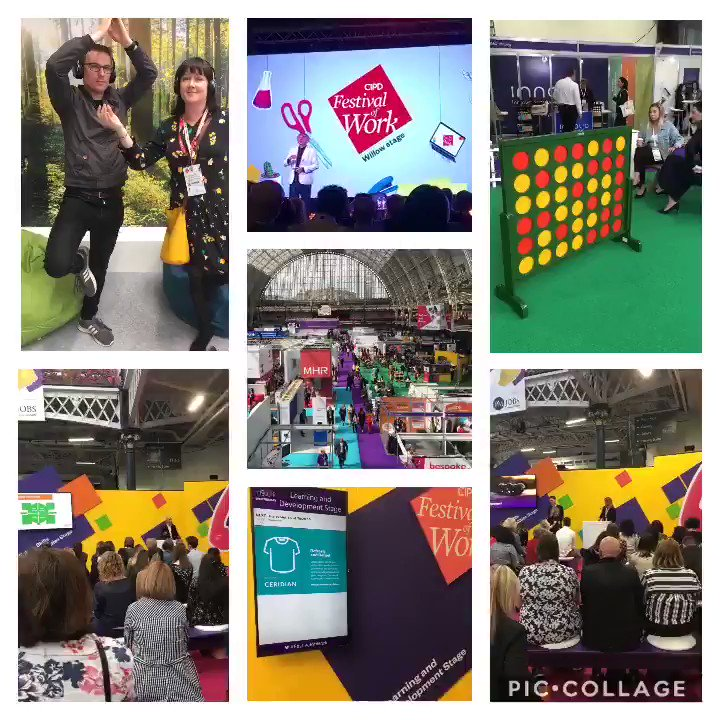 All the #Glastonbury2019 coverage is giving us great memories of our own festival @olympia_london earlier this month! #FestivalOfWork 🙌🎉☀️#noTentRequired