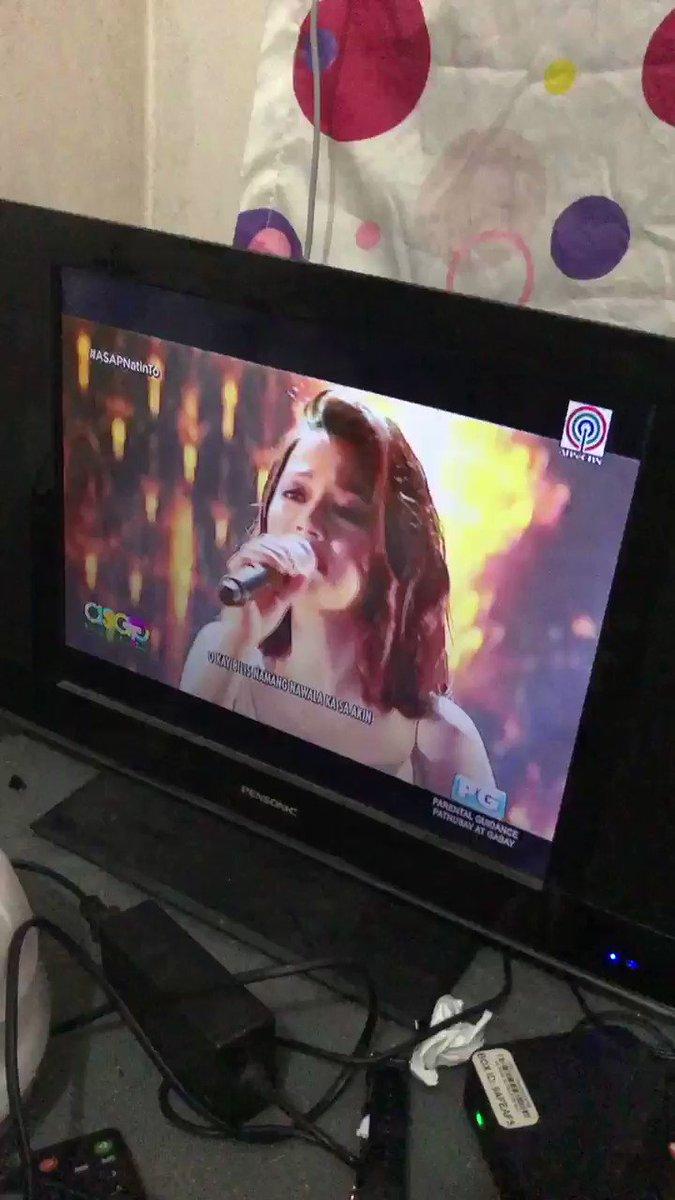 Hindi kinaya ng tv namin si @IamEthylGabison #ASAP #asapnatinto