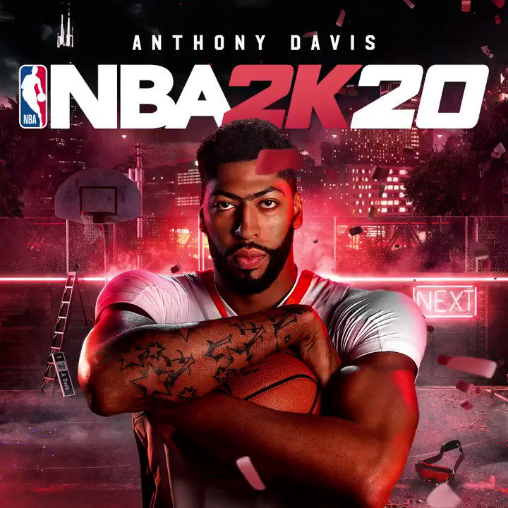 Welcome to the Next @Antdavis23 🔥   Pre-order #NBA2K20 now http://nba.2k.com/2k20