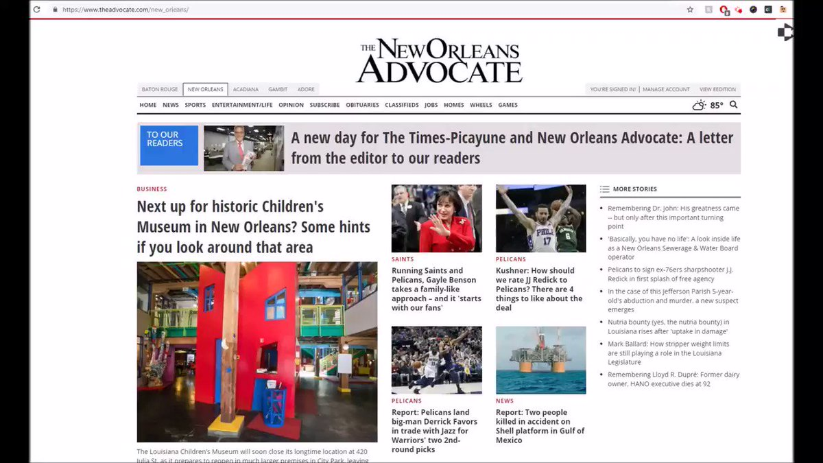 New Orleans Advocate (@theadvocateno) | Twitter