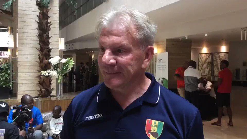 Video of Guinea boss Paul Put on Naby Keita...