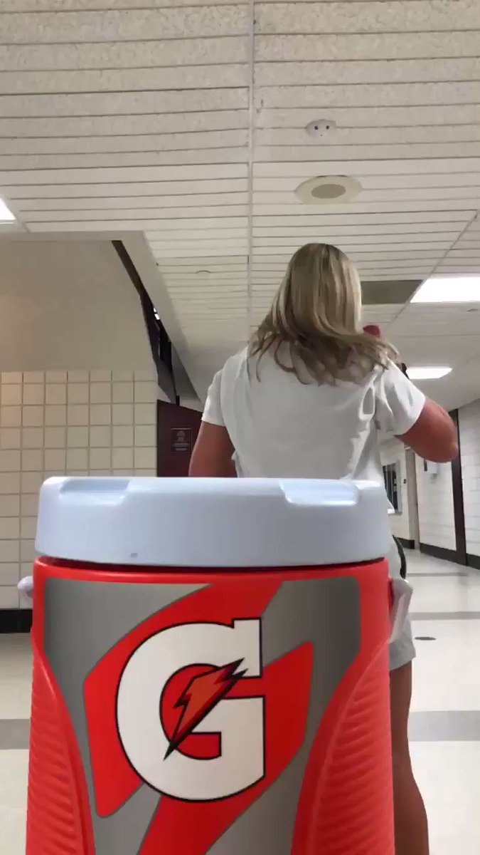 We put our own spin on the #BottleCapChallenge! Any other @MACSports schools want to give it a shot? #FireUpChips @Gatorade