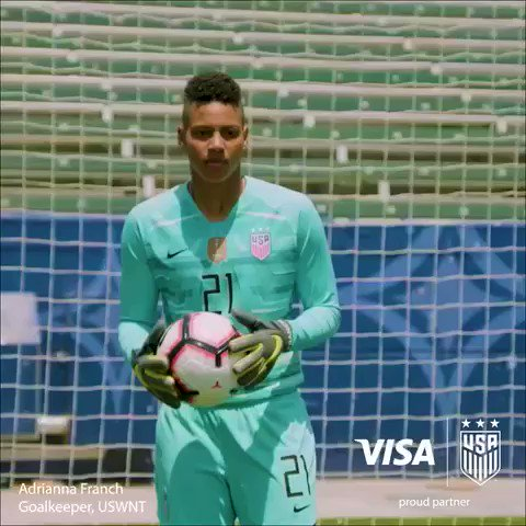 That feeling when you make the final in France!   Visa. Proud partner of the U.S. Women's National Team.