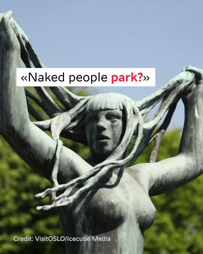 why do you have park filled with naked people? - well, here is an answer:) #Vigeland150 #visitnorway @VisitOSLO @Kulturetaten @vigelandmuseum