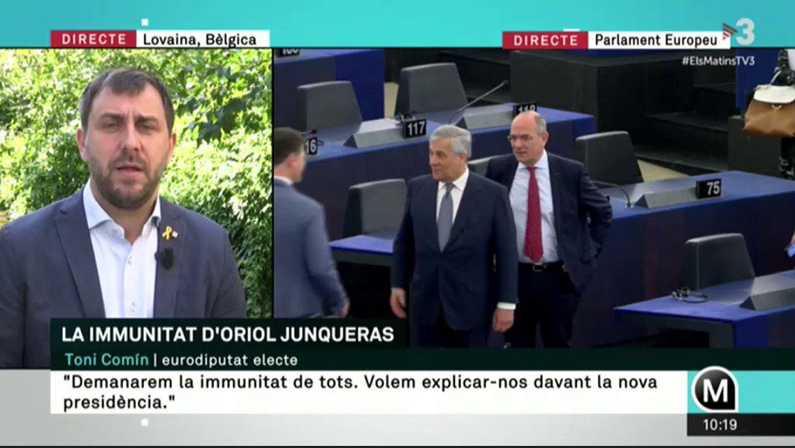 @JuntsXCat's photo on Tajani