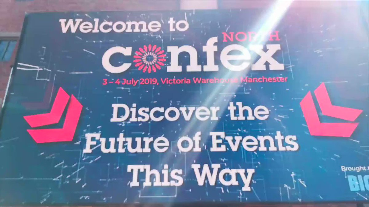 Image for the Tweet beginning: Prompting Plus are at #ConfexNorth19