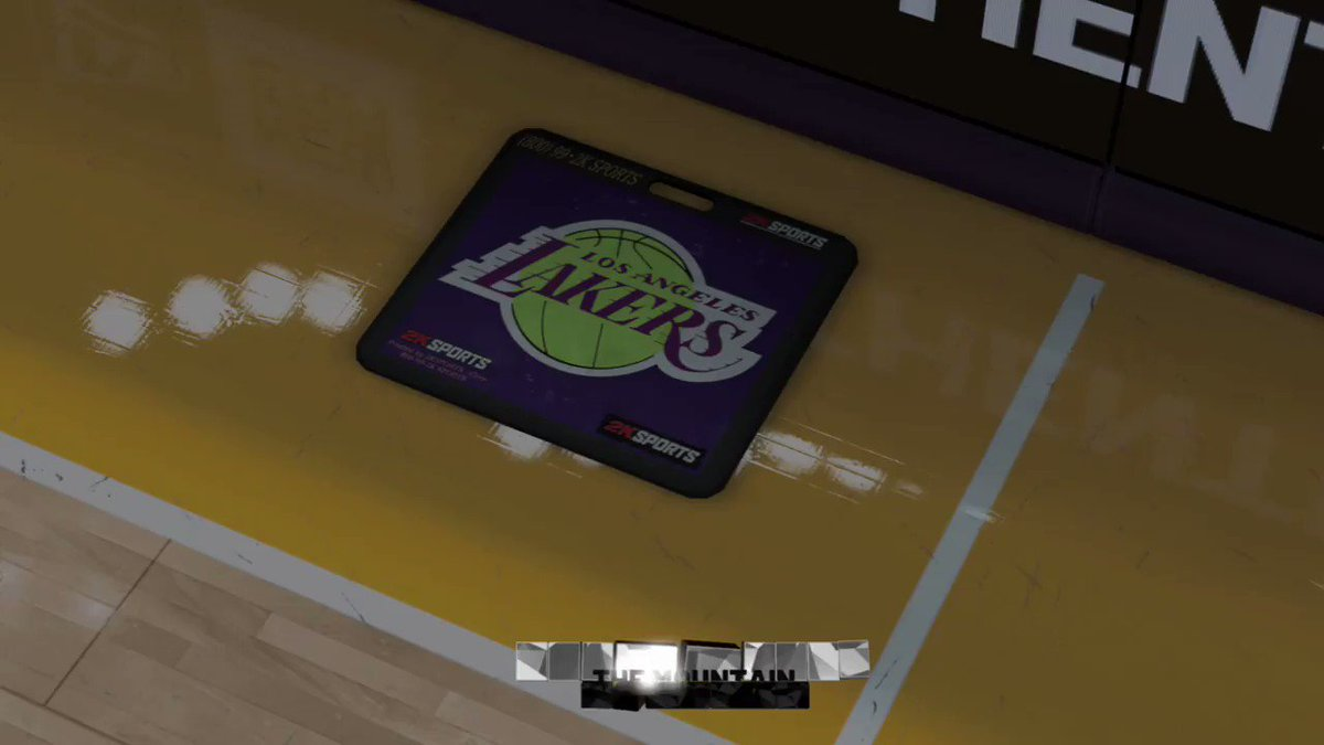 RT @mt842131: #2k20 Gameplay leaked *Warriors vs Lakers* https://t.co/MnUtla9vUH