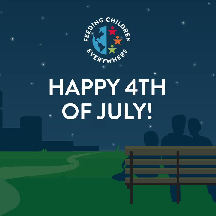 From everyone at Feeding Children Everywhere, we wish you all a safe and exciting Fourth of July!