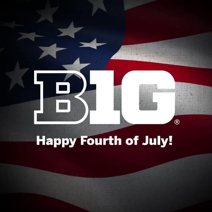 Happy Fourth of July, #B1G fans!
