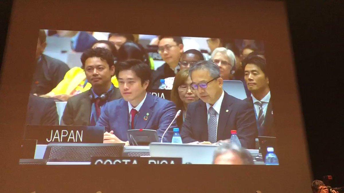 RT @boja0630: 決定を受けての、吉村知事のスピーチです^_^ https://t.co/6uLUVuiYtm