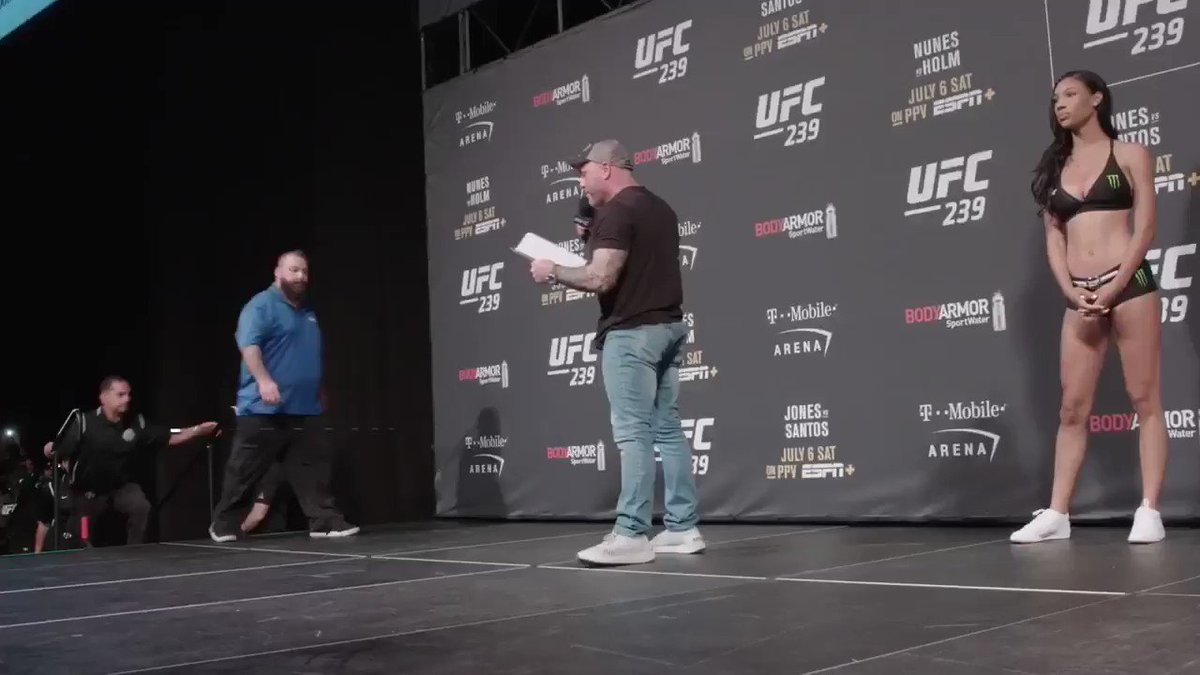 This is gonna be fun. (Via UFC Embedded).
