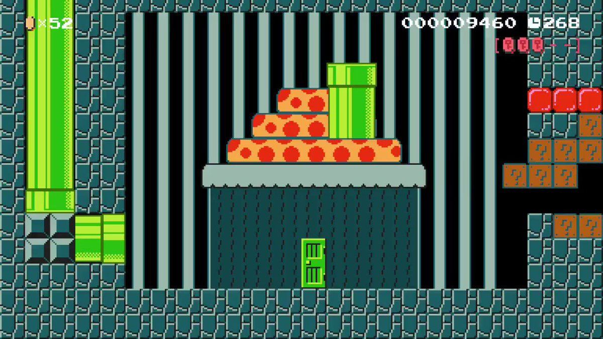 tunnel boring machine #SuperMarioMaker2
