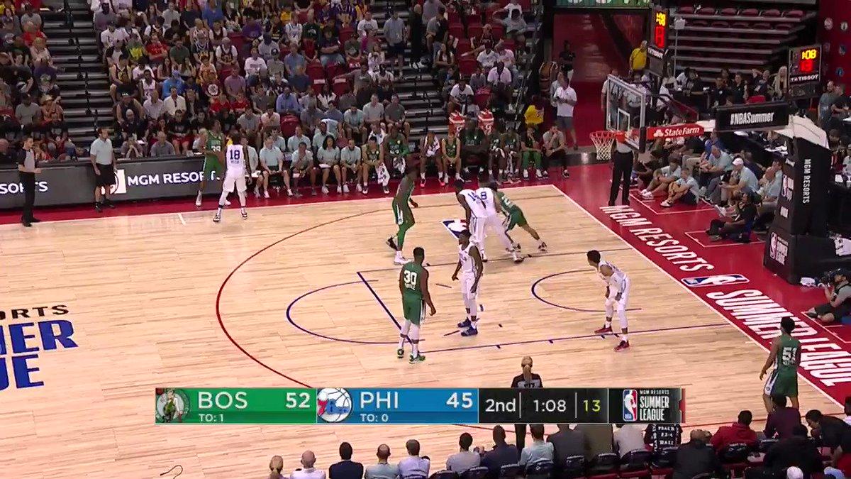 The Celtics are gonna like Carsen Edwards.