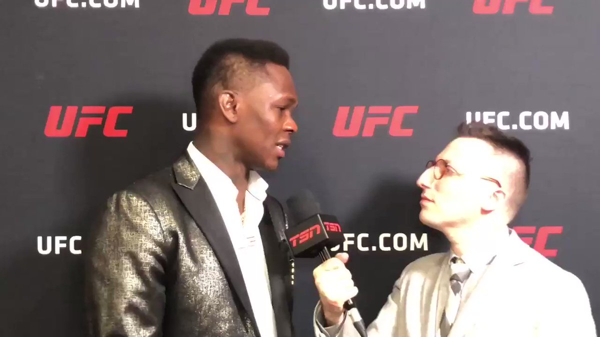When @GamebredFighter makes UFC history while you're interviewing @stylebender