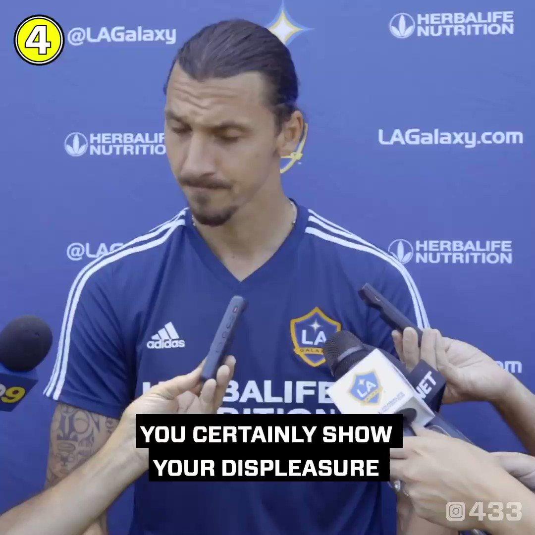 This Zlatan guy is not normal 😂