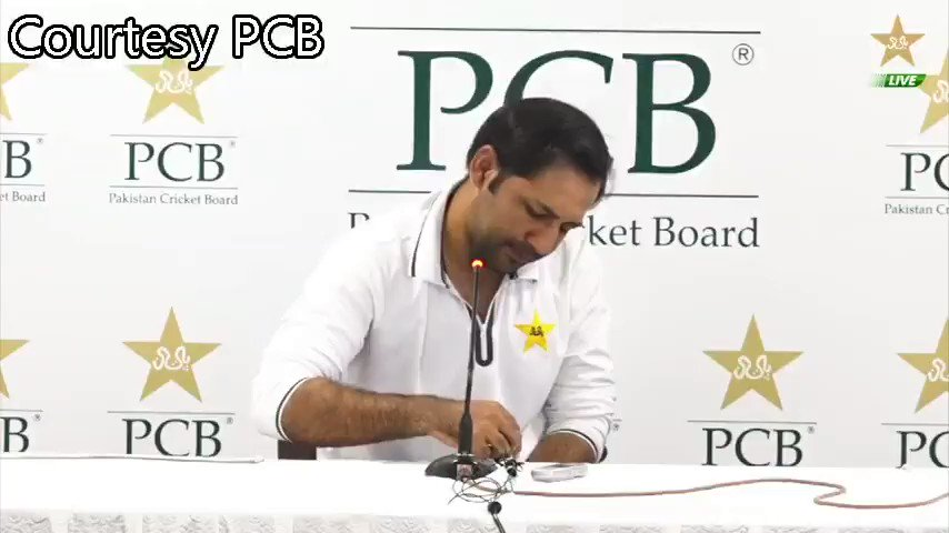 Question: Do you not think Shoaib Malik deserved a farewell match against the Bengalis? Sarfaraz Ahmed: Dont call them Bengalis, call them Bangladesh, or you also risk being banned. #CWC19