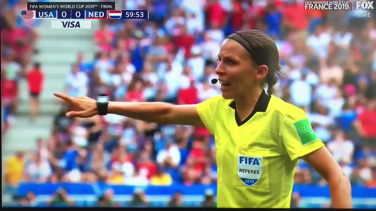 Swearing at refs is the one true universal language